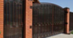 ворота распашные jpg