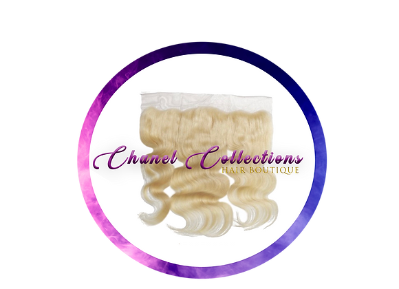#613 Blonde 13x4 Body Wave Frontal