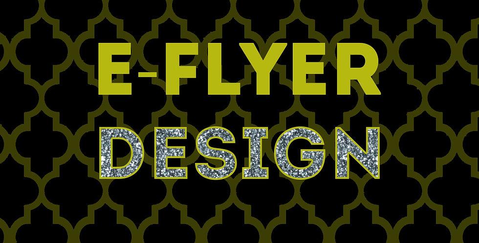 E-Flyer (Digital Flyer) Design