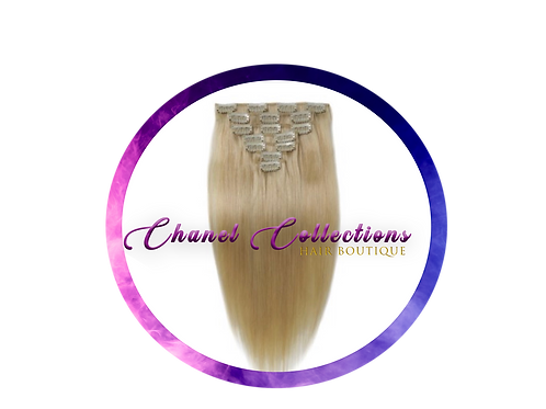 #613 Clip In Human Hair Extensions