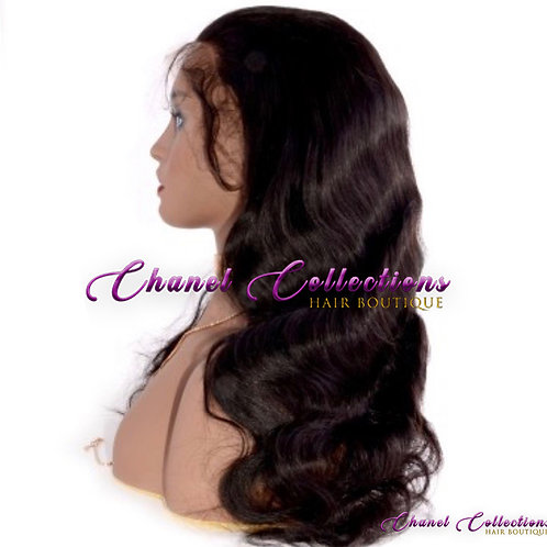 Body Wave Undetectable Transparent Full Lace Wig