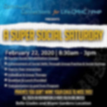 PHP Presents A Super Social Saturday. We