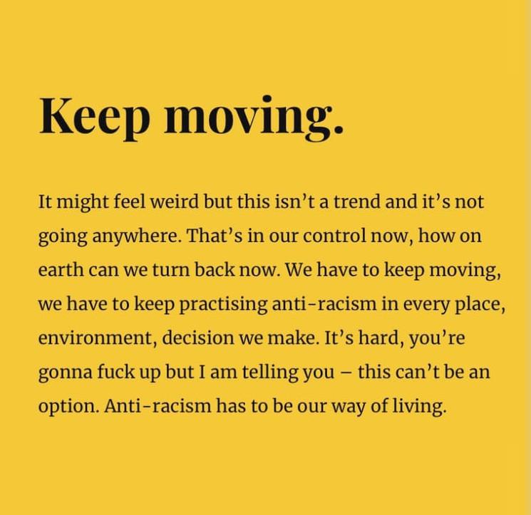 Kepp moving