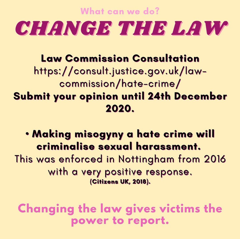 Change the law
