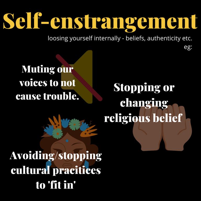 Self-estrangement
