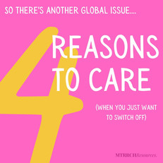 4 reasons to care about global issues