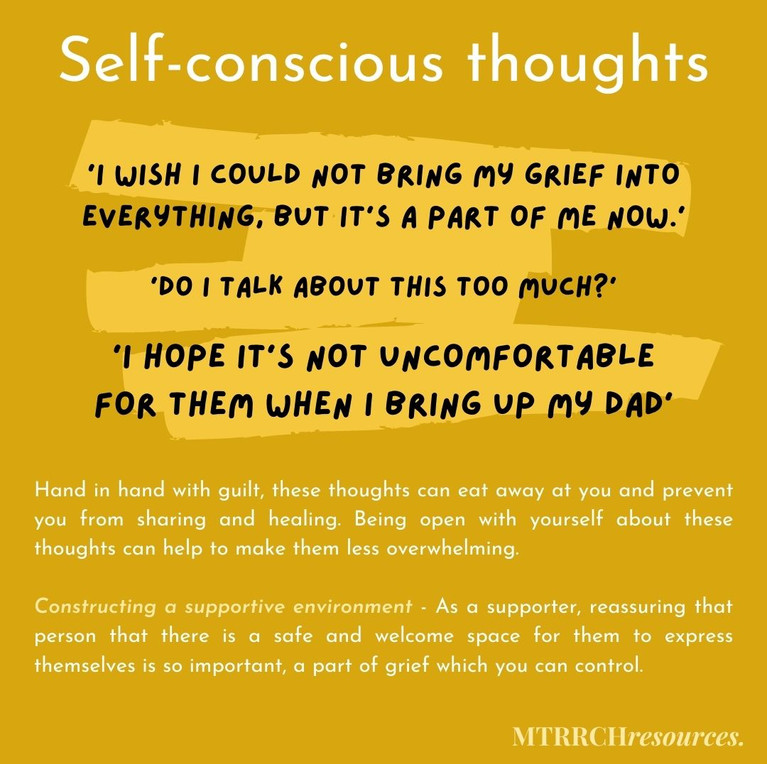 Self-conscious thoughts