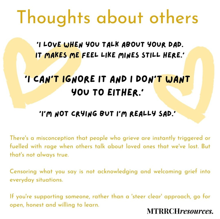 Thoughts about others