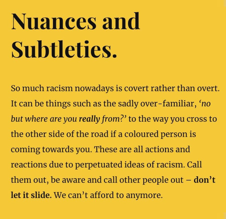 Nuances and Subtleties