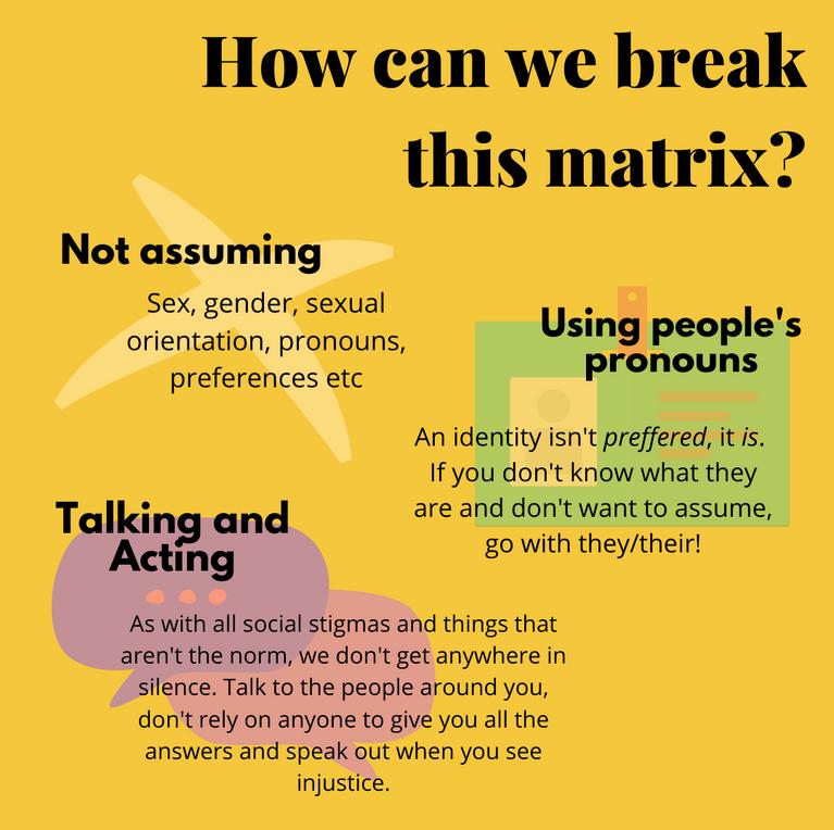 How can we break this matrix
