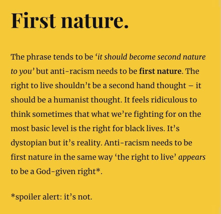 First nature