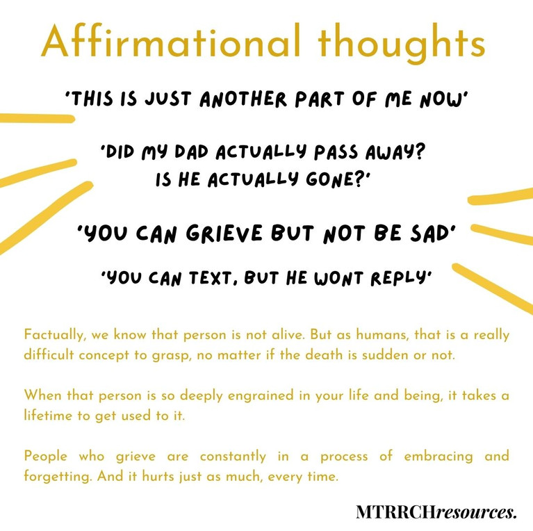 Affirmational thoughts