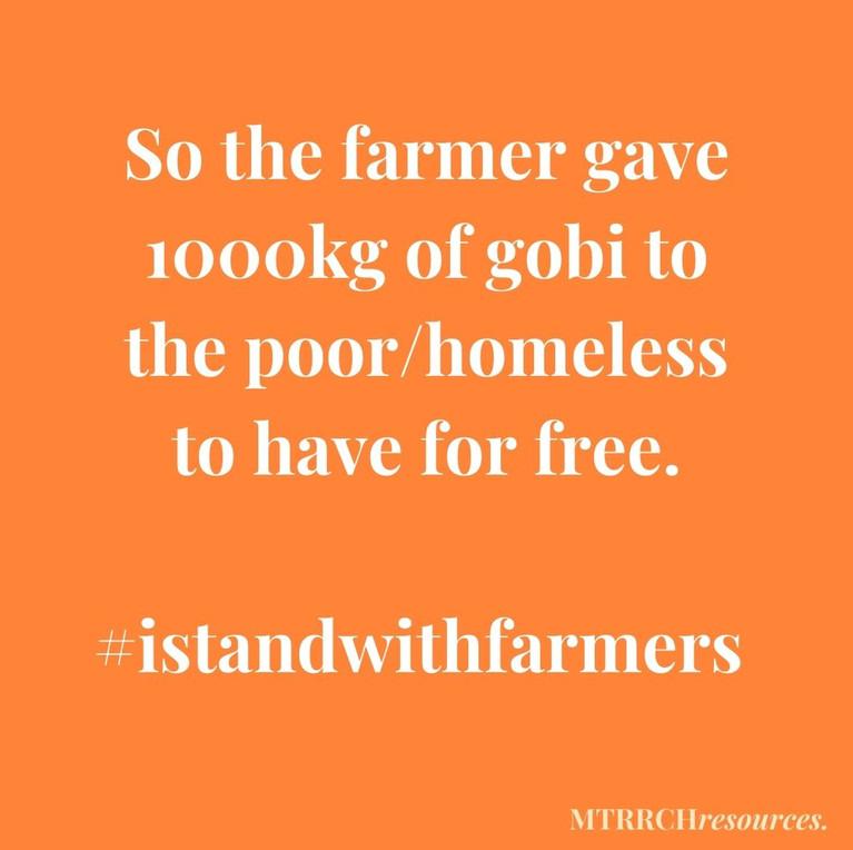 #istandwithfarmers