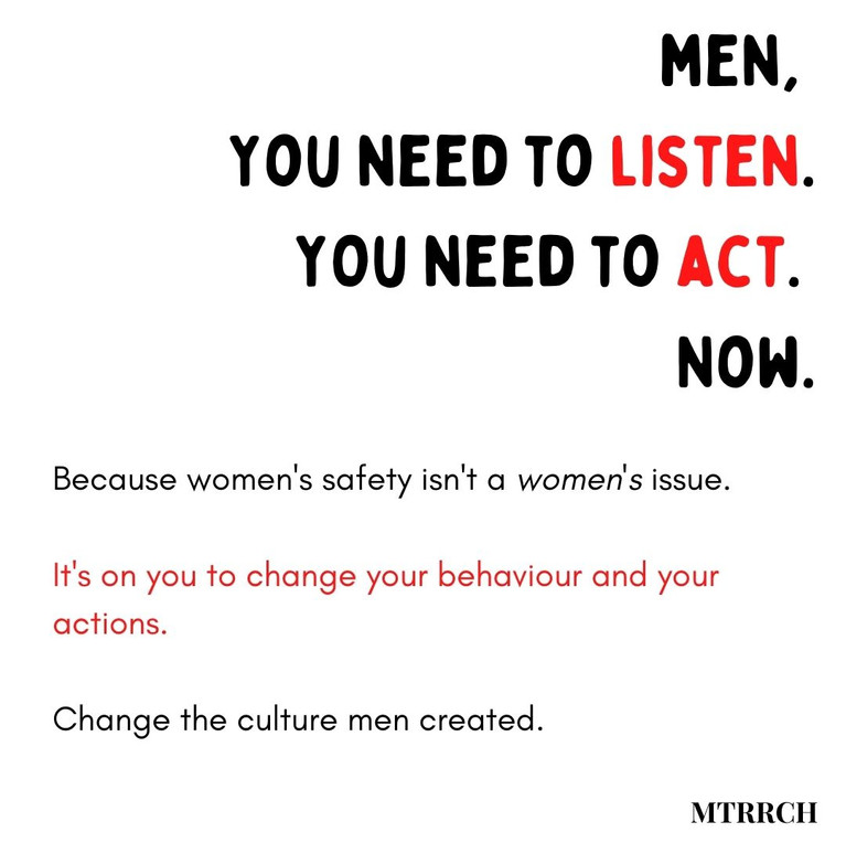 Men you need to listen and act now.