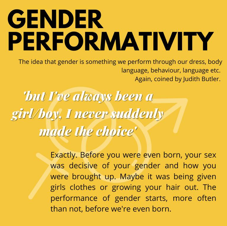 Gender Performativity