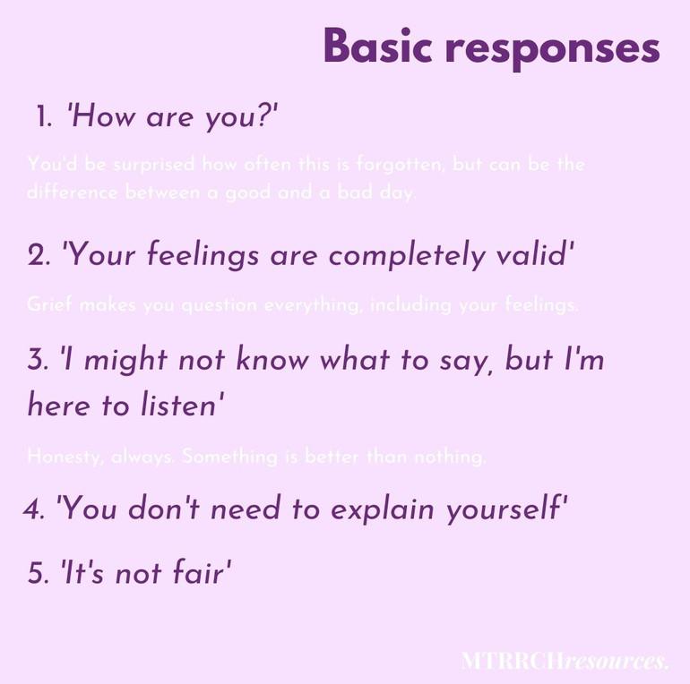 Basic responses