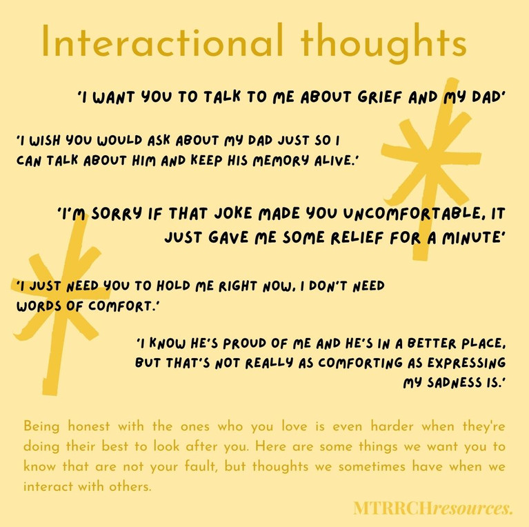 Interactional thoughts