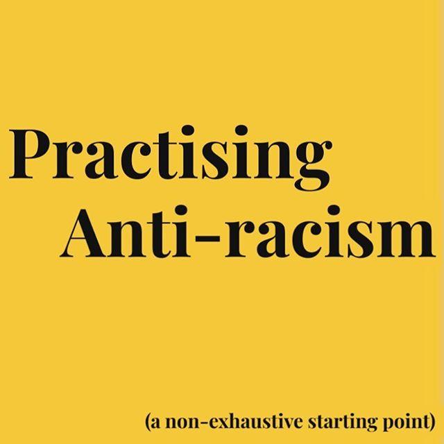 Practicing Anti-racism