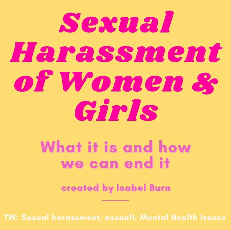 Sexual Harassment of Women and Girls by Isabel Burn