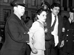 Lolita Lebrón Being Arrested