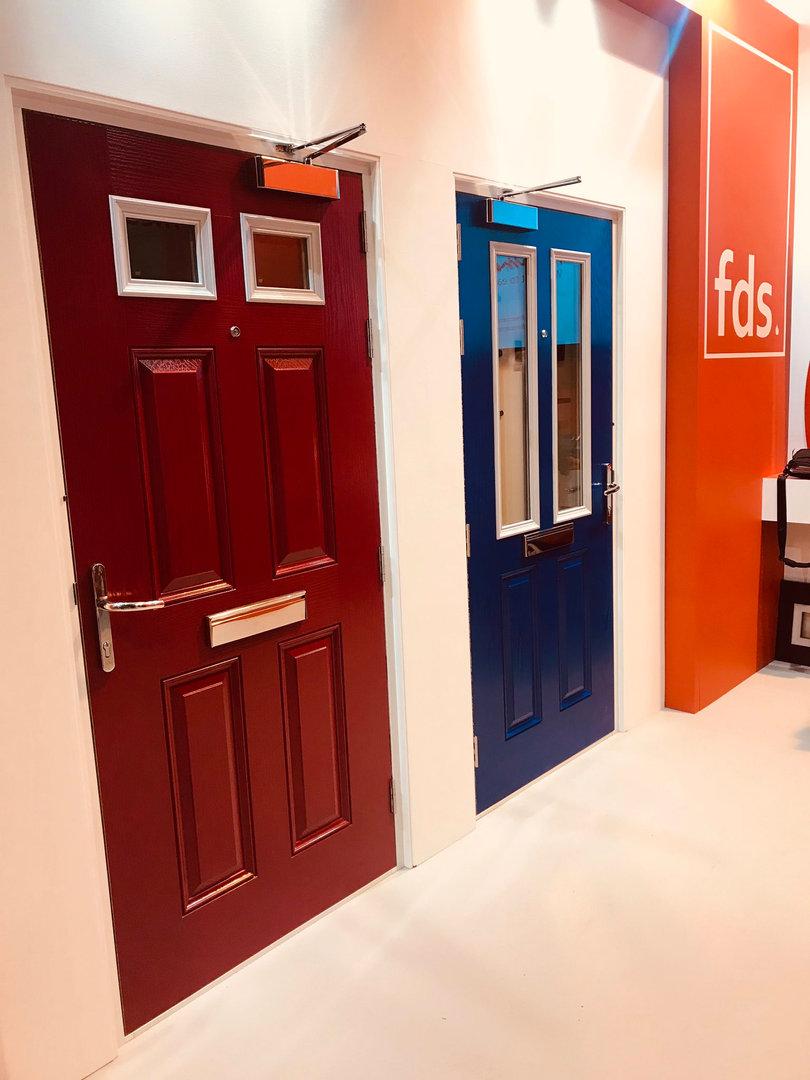 Glazed Composite Fire Doors