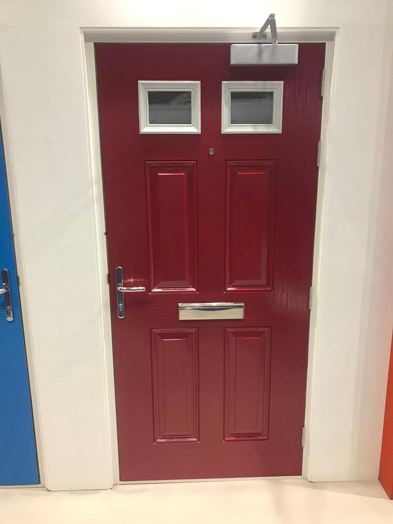 Glazed Composite Fire Door