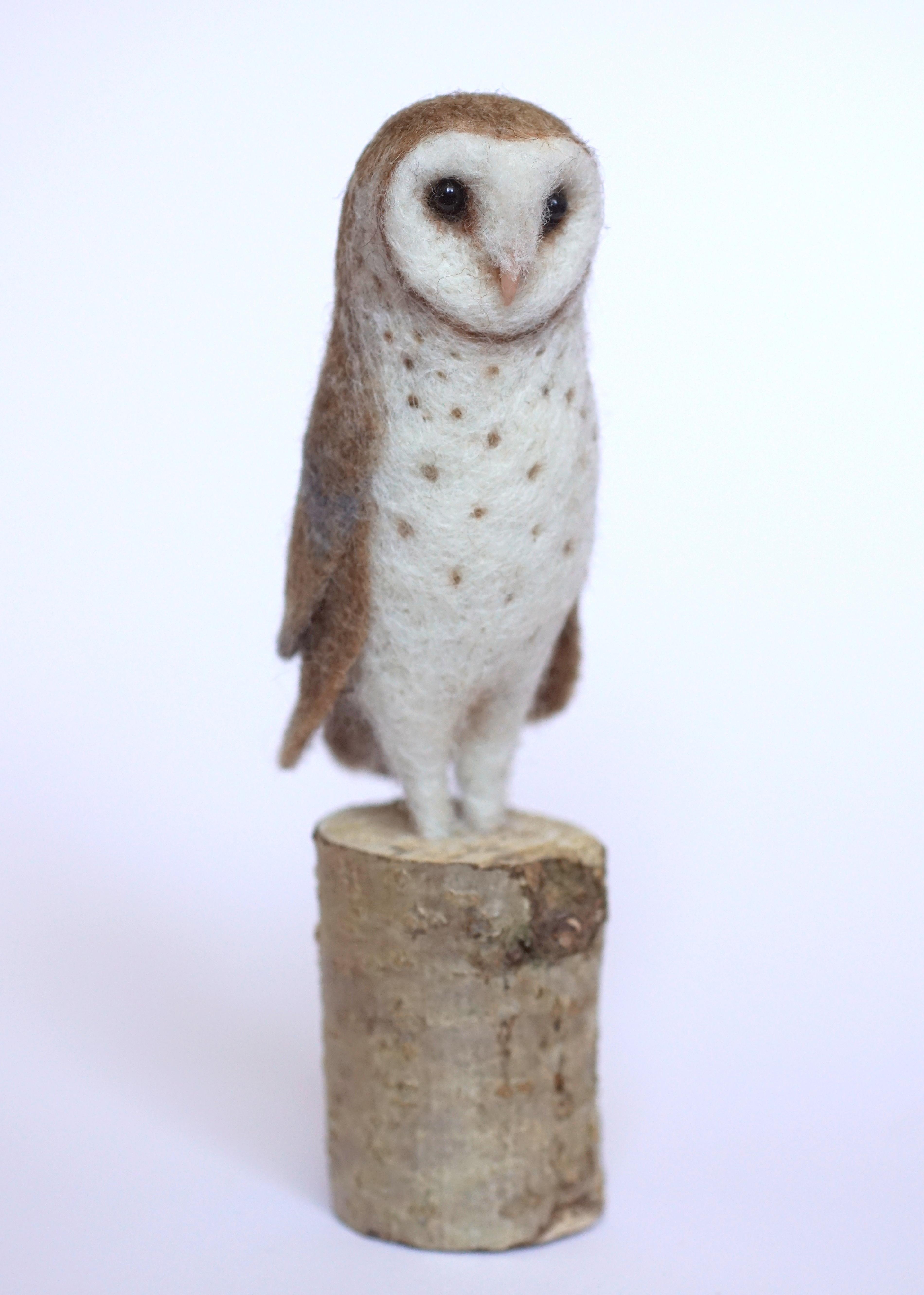 felted barn owl Jo Gardiner Art 8