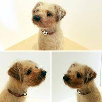 Needle Felted Border Terrier