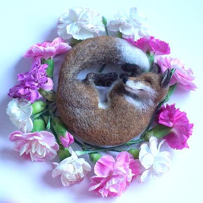 sleepy fox Jo Gardiner Art.JPG