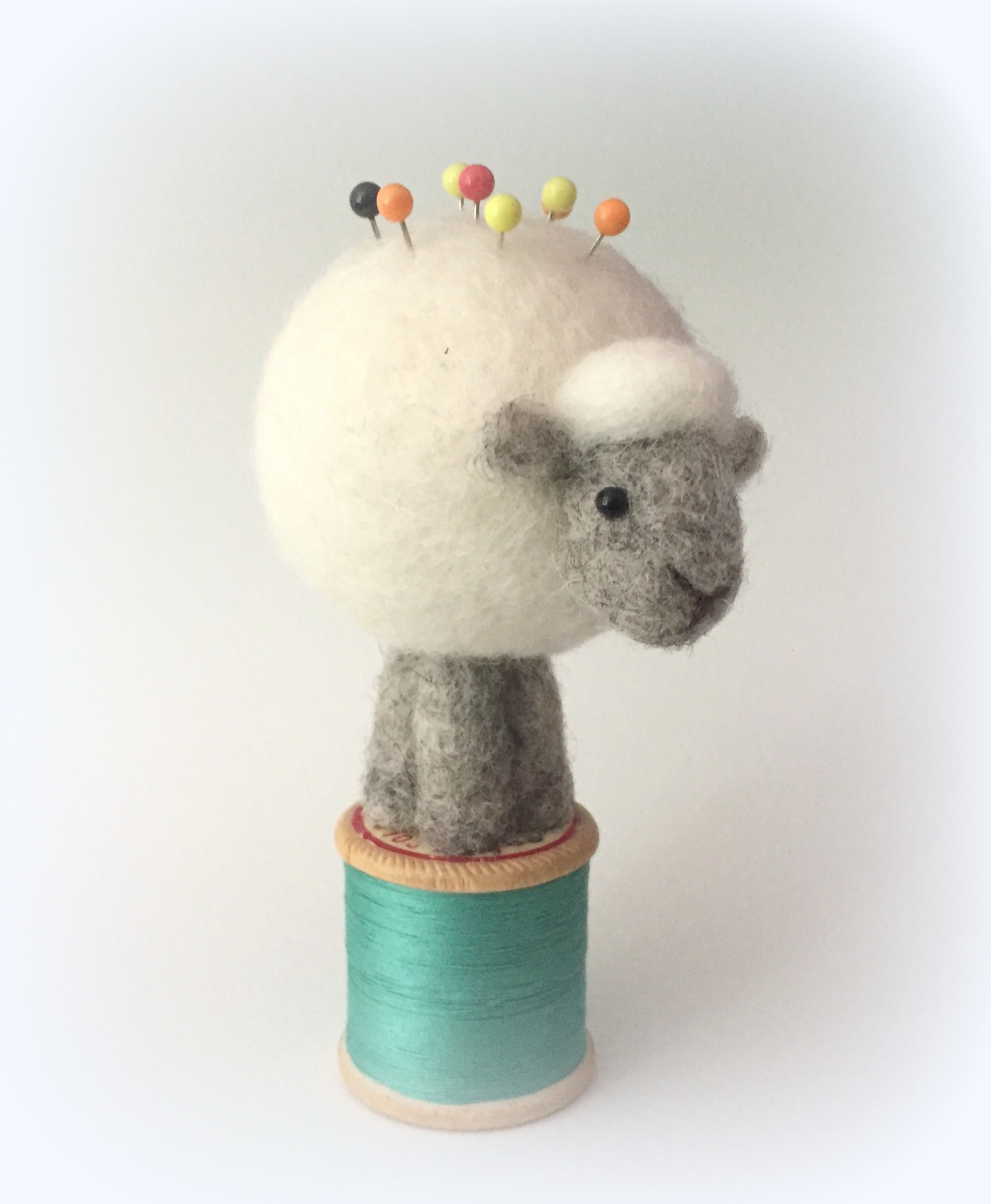 Sheep Pin Cushion - Jo Gardiner