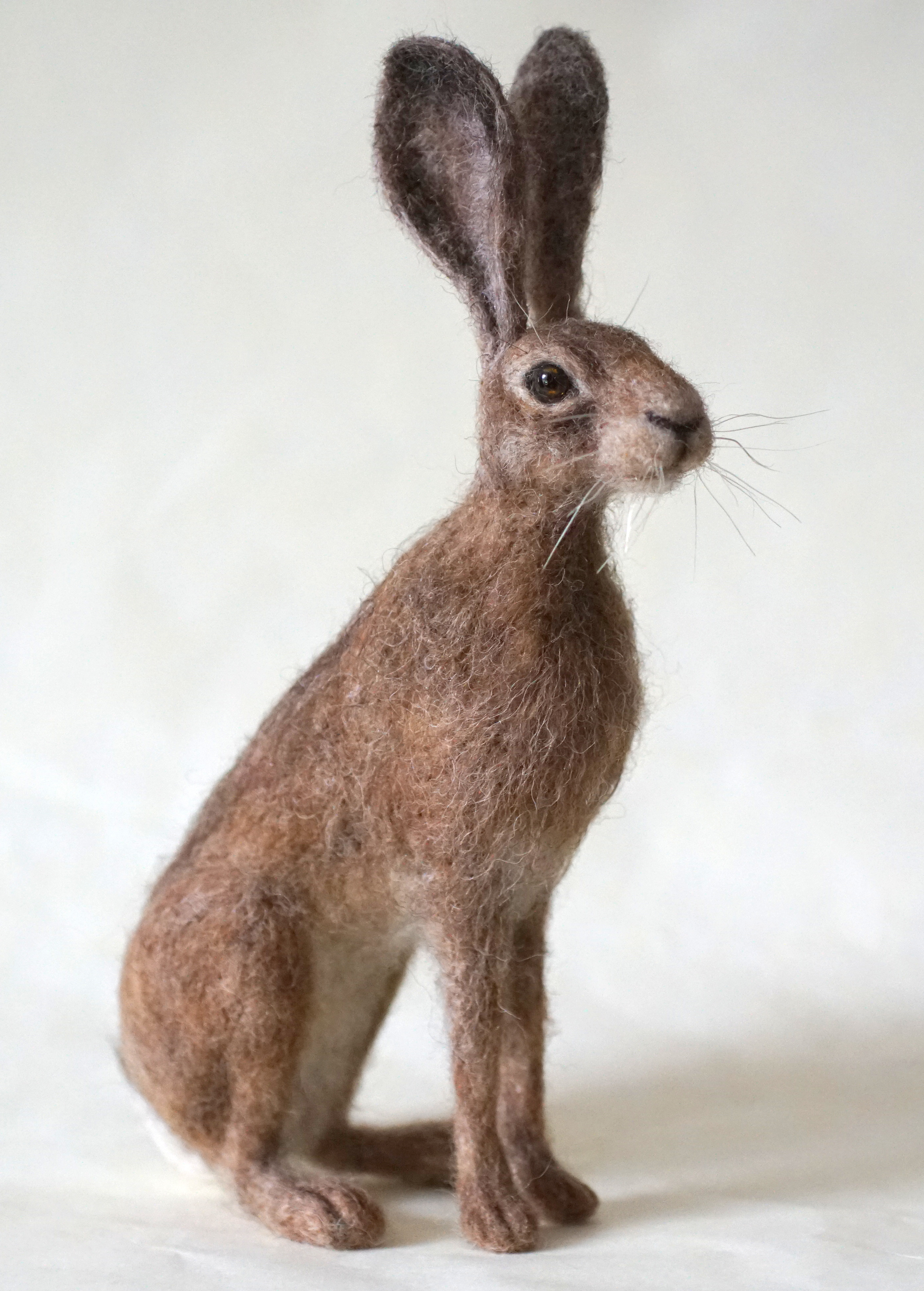 Needle Felted Hare - Jo Gardiner Art.JPG