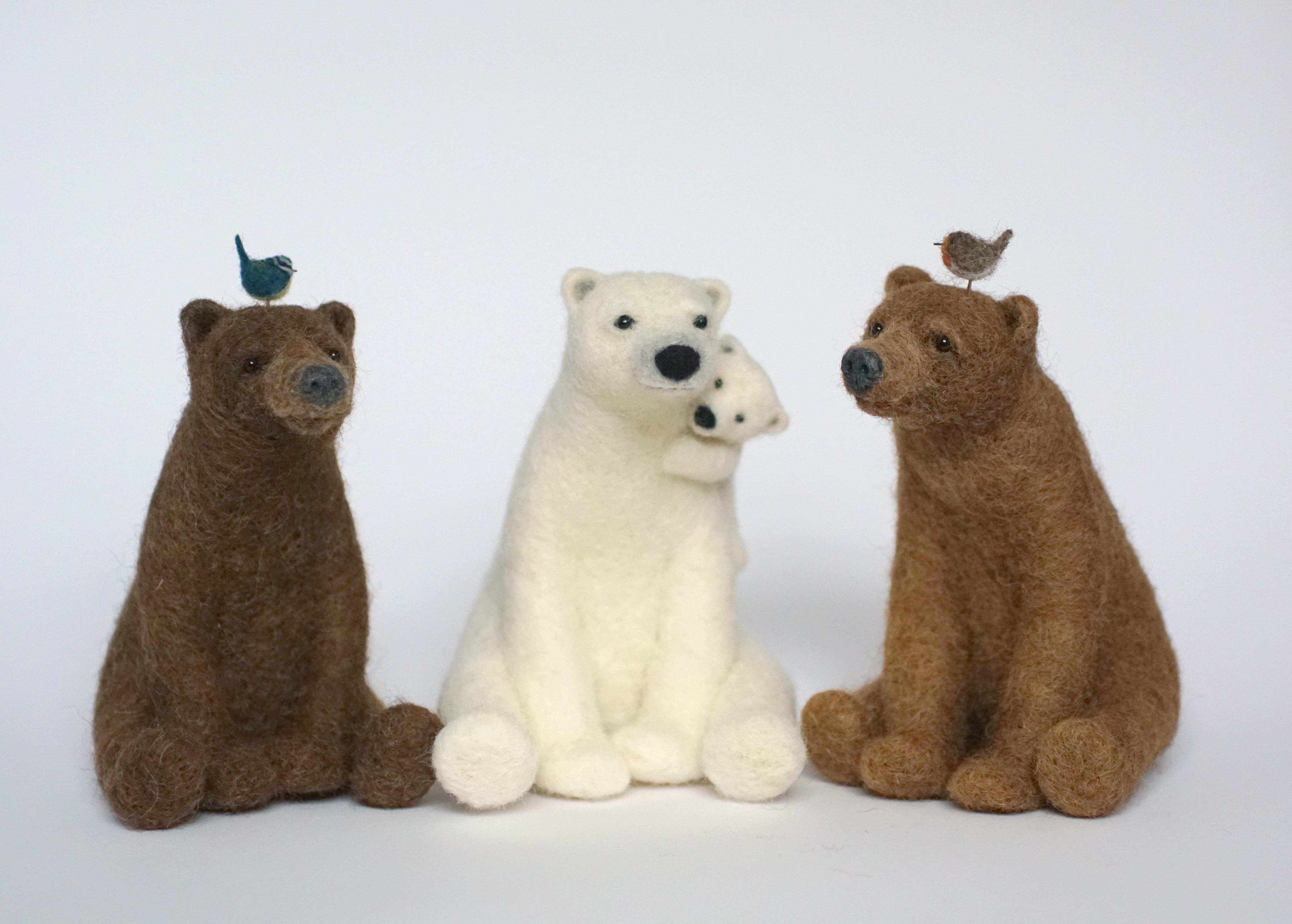 3 bears Jo Gardiner Art