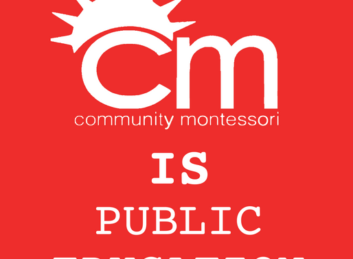 Community Montessori is Public Education