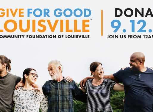 Give for Good Louisville September 12th!