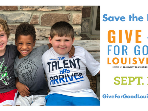 Give for Good Louisville is September 13th!