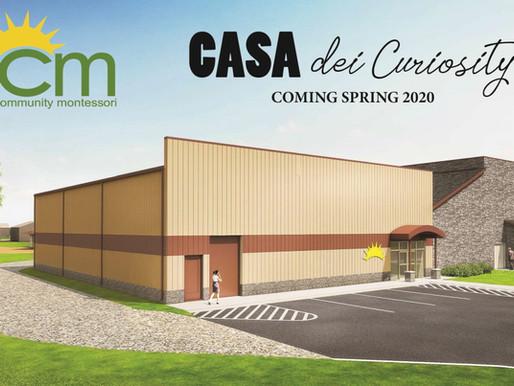 The CASA dei Curiosity is coming!