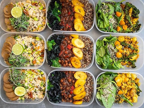 Ready to Eat - 5 healthy meals