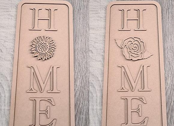 Home Plaque 30x13cm