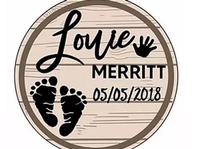 Footprint plaque