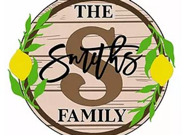 Family Plaque Lemons