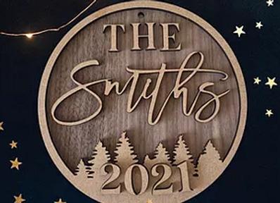 Family Christmas Disc