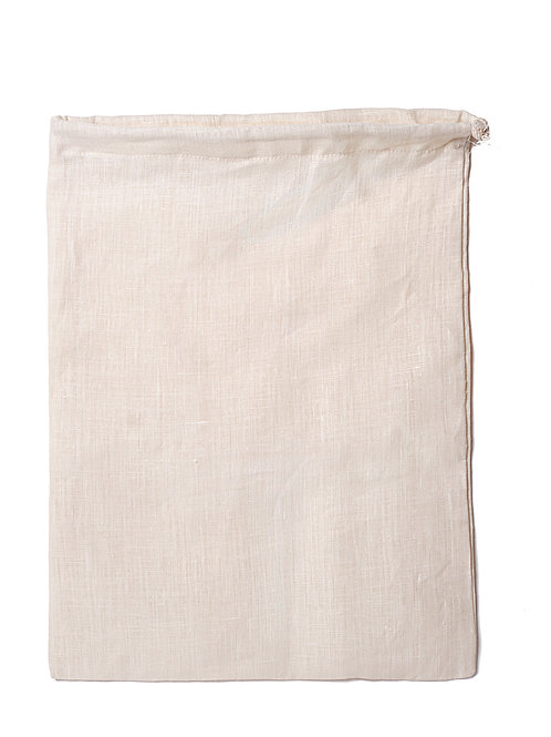 Hemp Linen Produce Bag - Large