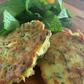 Zesty Zuchinni Fritters