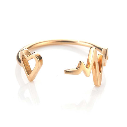 GOLD PULSE RING