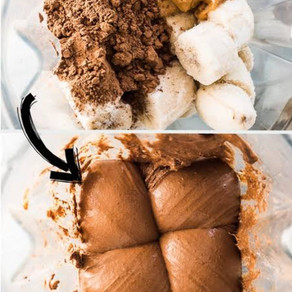 Chocolate Banana Ice-cream