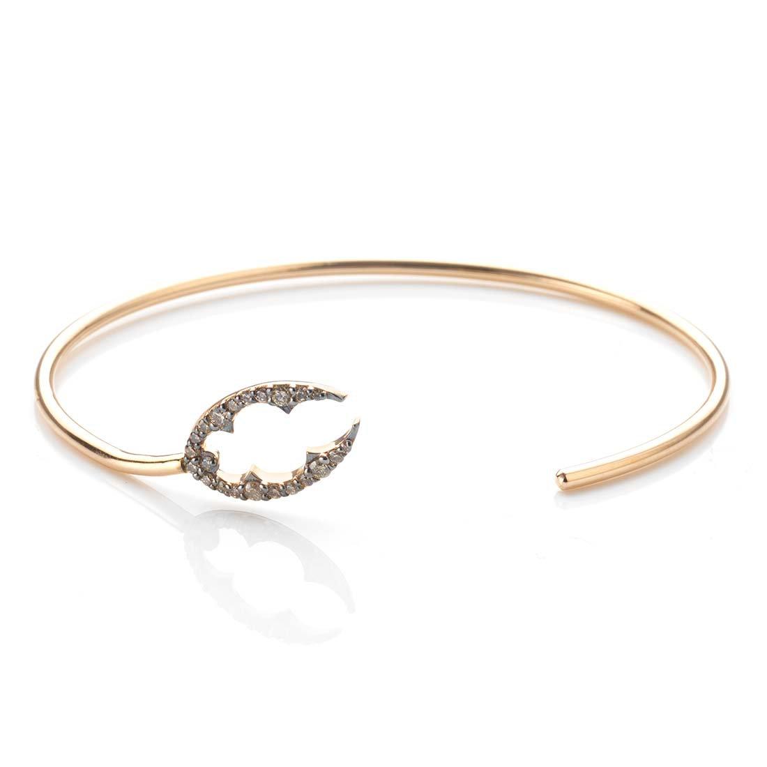 Gold Lobster Claw Bracelet