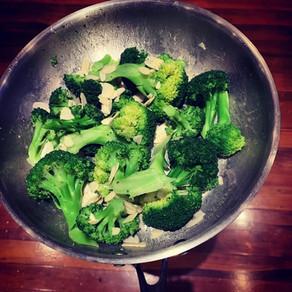 Broccoli restaurant style