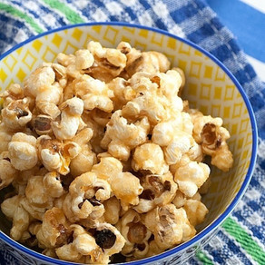 Maple and Coconut Popcorn