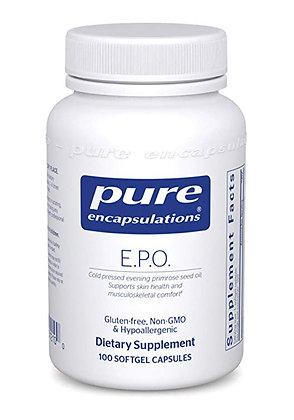 Pure Encapsulations: EPO (Evening Primrose Oil)