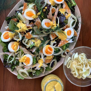 Smoked Fish and Pickled Fennel Salad